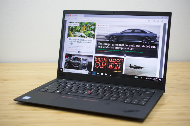Lenovo's ThinkPad X1 Carbon is on sale for Presidents' Day.