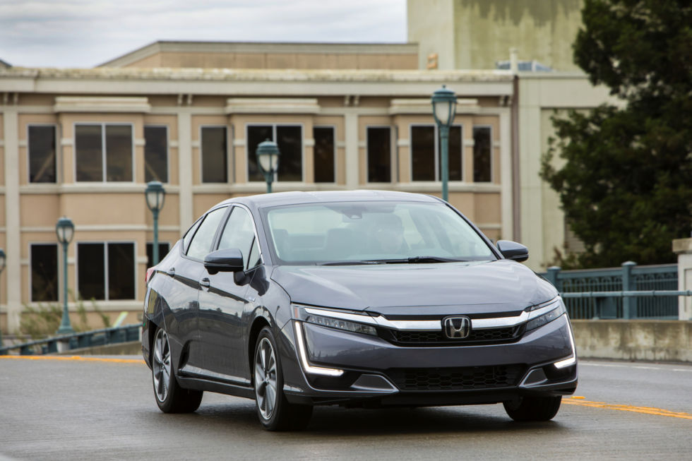 2018 Honda Clarity Plug-In Hybrid.