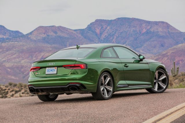 The 2018 Audi RS5 is where it's at: 444 hp via two turbo-tables and