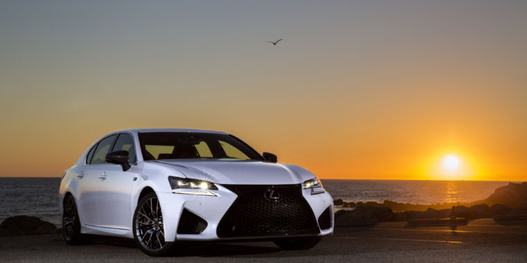 a 5 liter v8 in a world of small capacity turbos the 2018 lexus gs f ars technica. Black Bedroom Furniture Sets. Home Design Ideas