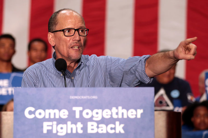 Tom Perez, the head of the DNC, helped orchestrate this new lawsuit.
