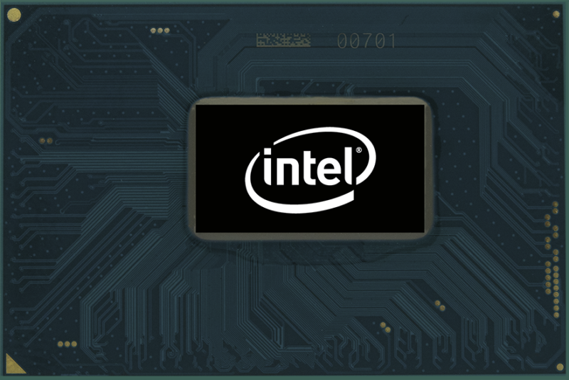 Intel 8th-generation Core H-series mobile chip.