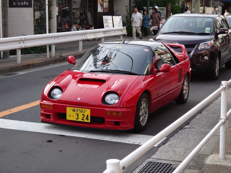 "Mazda used to have a marque called <a href=""https://en.wikipedia.org/wiki/Autozam"">Autozam</a>, which mostly sold rebadged Suzuki keis. This brand gave us probably the most Japanese car to ever exist, the <a href=""https://en.wikipedia.org/wiki/Autozam_AZ-1"">Autozam AZ-1</a>."