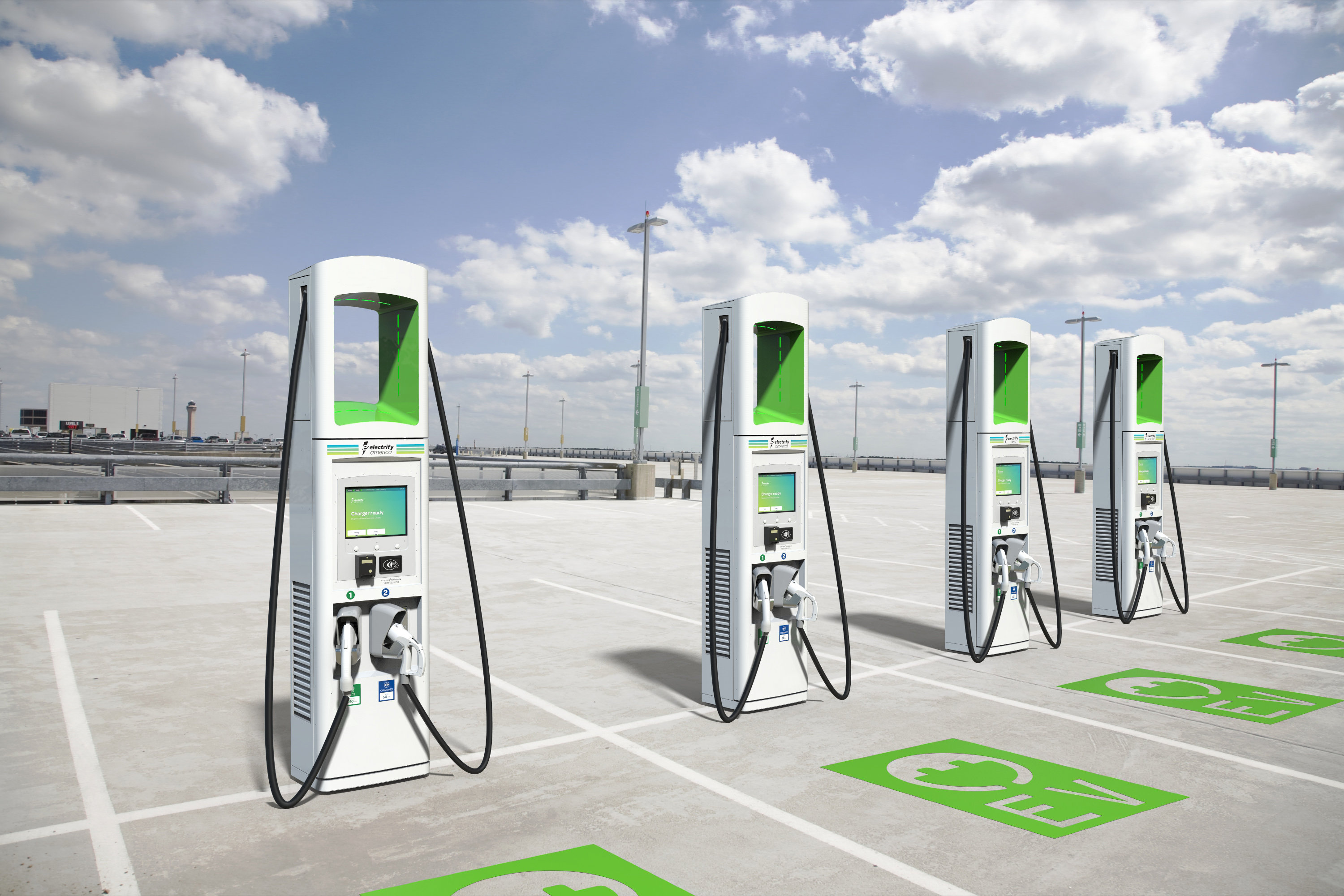 Electrify America will deploy 2,000 350kW fast chargers by the end