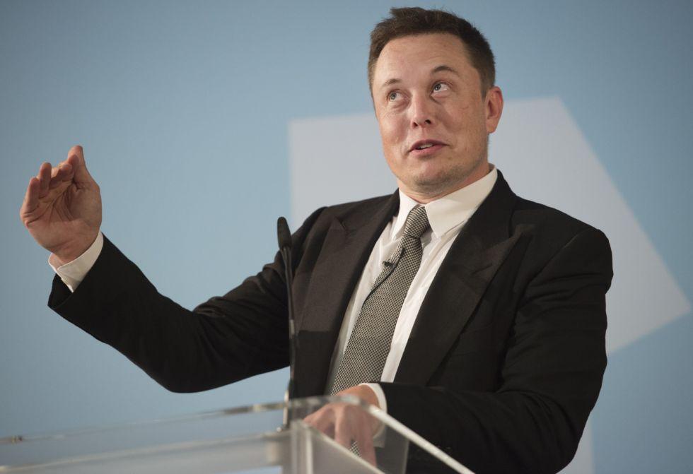 Elon Musk in 2015.
