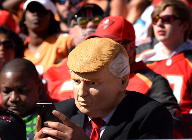Trump ramps up personal cell phone use