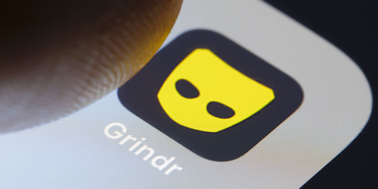 what does grindr look like on iphone