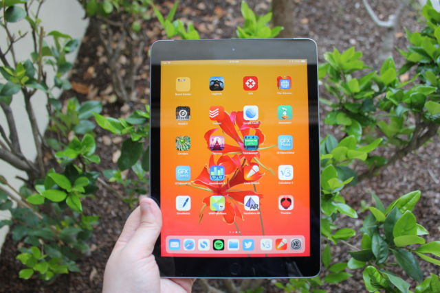 The 9.7-inch Apple iPad is also on sale.