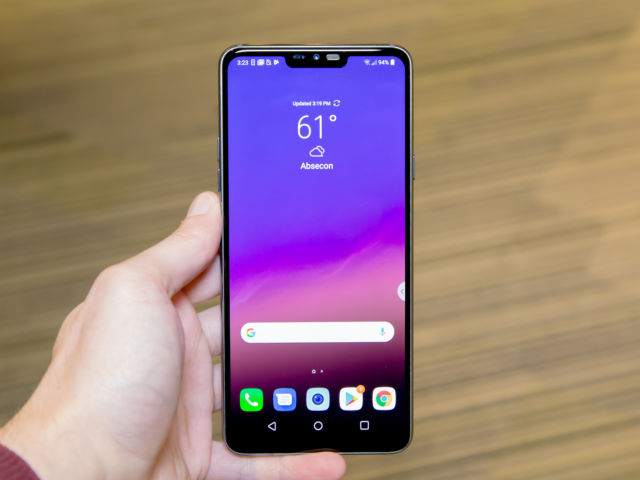 LG G7 hands-on—LG adds a notched display, better speaker to the G6