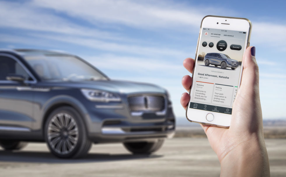 Owners will be able to use their smartphone as a key when Lincoln debuts the Phone as a Key technology on the production model of Aviator, allowing clients to lock and unlock the vehicle, open its trunk, and, most importantly, start and drive it—no smart key fob necessary.