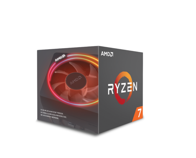 Ryzen 7 2700X in box.