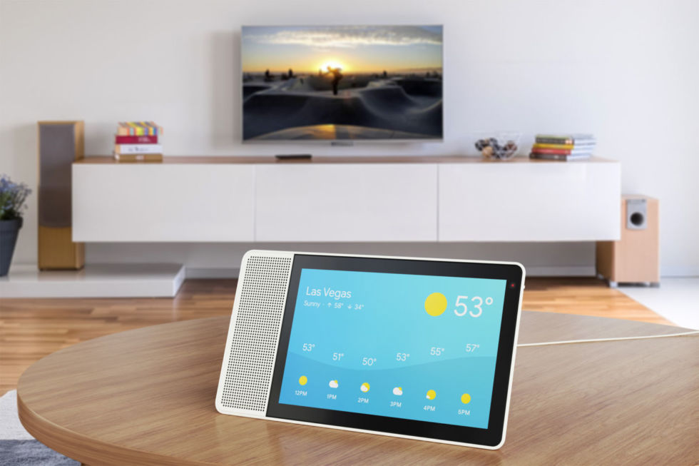 This Lenovo Google Assistant Smart Display will be one of the first devices to ship with Android Things.