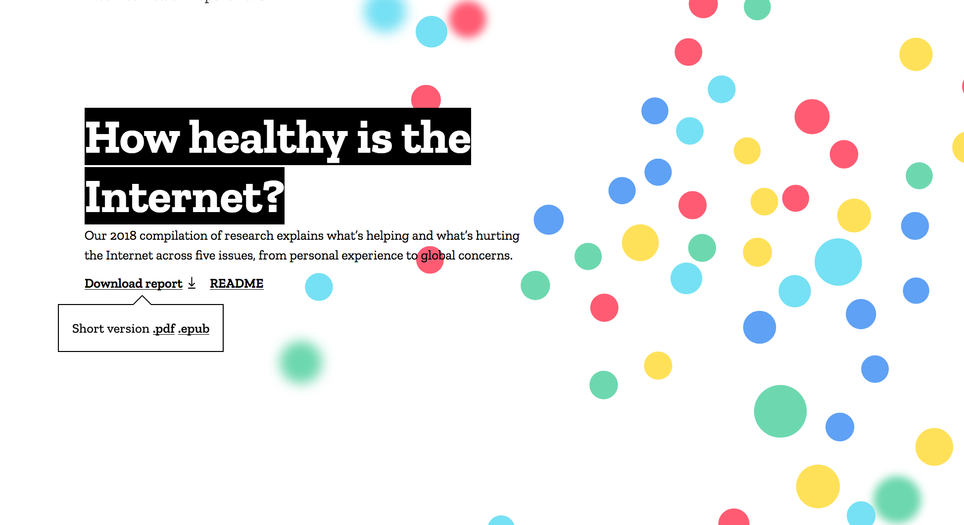 the internet has serious health problems mozilla foundation report