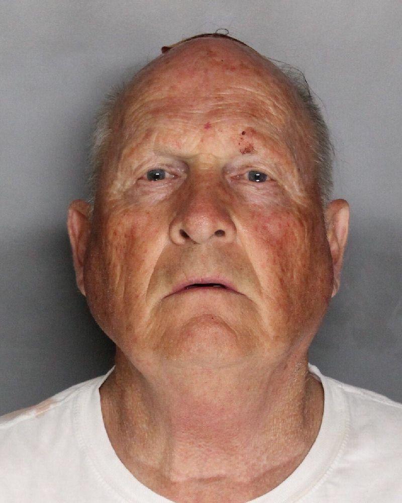 Mug shot of suspect