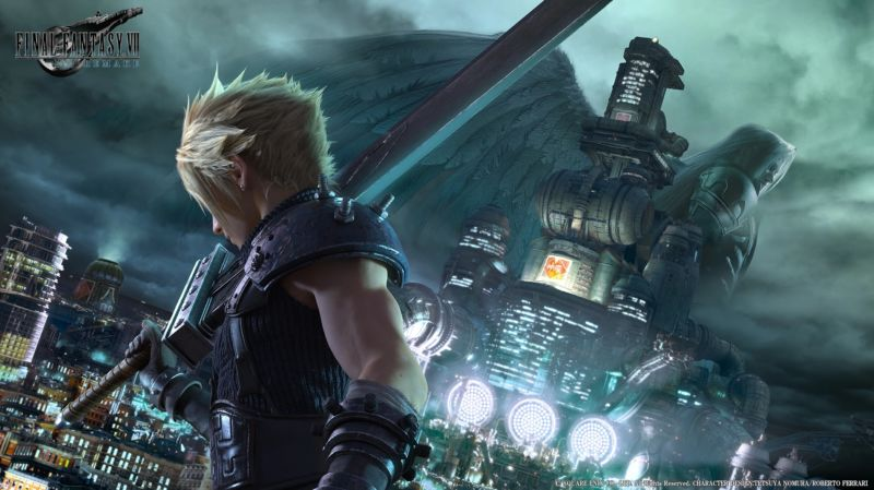 This 2017 concept art might be the closest we get to new <em>Final Fantasy VII</em> remake footage for a while.