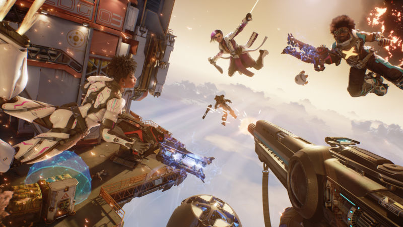 LawBreakers development suspended as Boss Key moves on