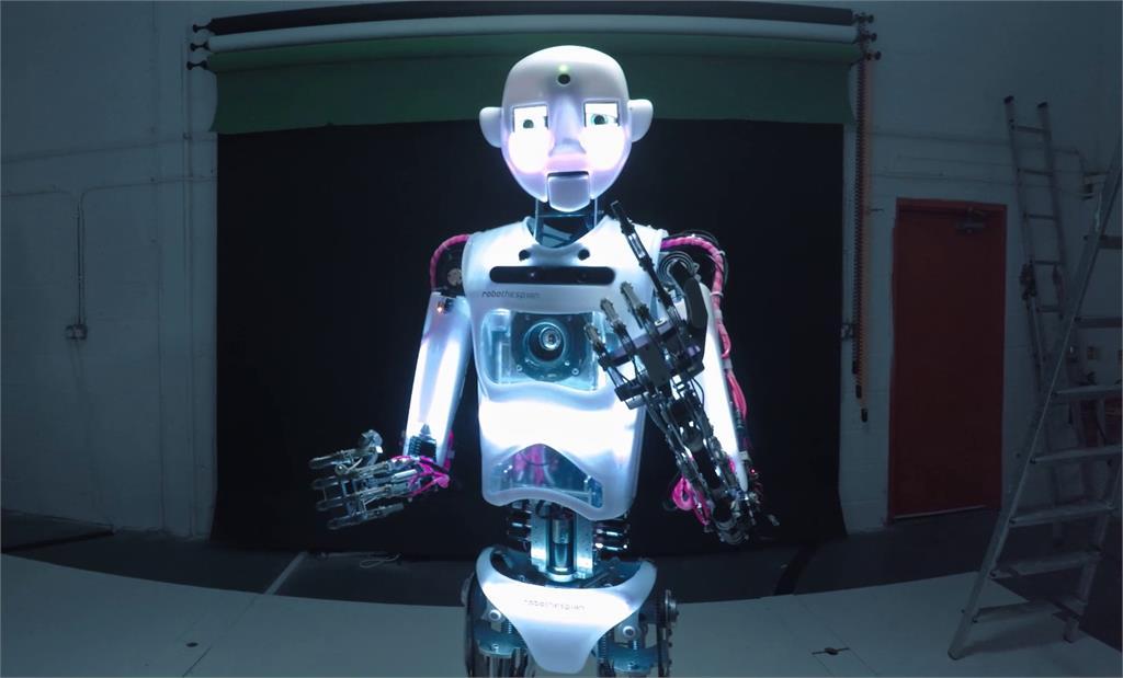 "A <a href=""https://www.engineeredarts.co.uk/robothespian/"">RoboThespian</a> (seriously)."