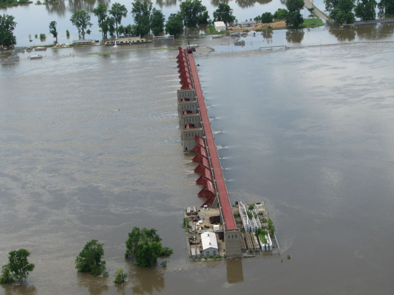 While we've done a lot to control the flow of the Mississippi, it's not always effective.