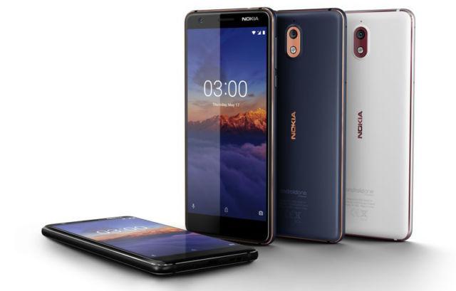The Nokia 3.1.