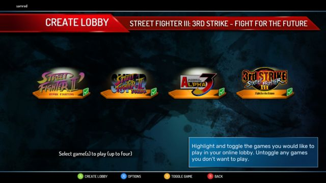 Street Fighter 30th Anniversary Collection is arcade