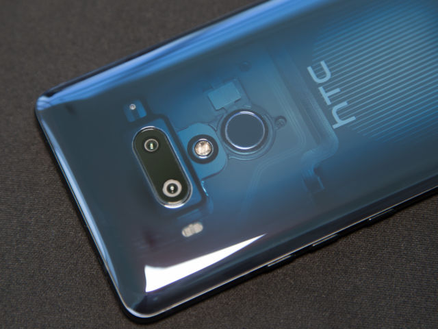 HTC's new flagship smartphone has a translucent back, dual