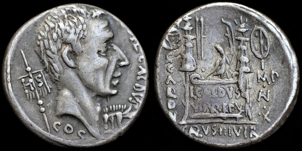 Dating ancient roman coins