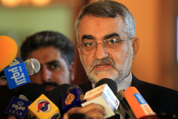 Alaeddin Boroujerdi, chairman of Iran's Parliament Committee of National Security and Foreign Policy.