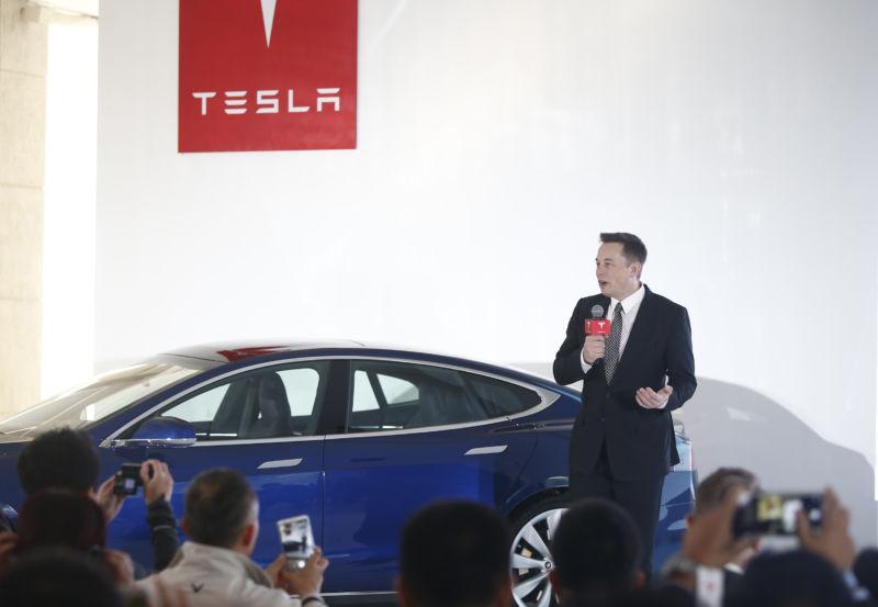 Elon Musk, Chairman, CEO, Tesla.