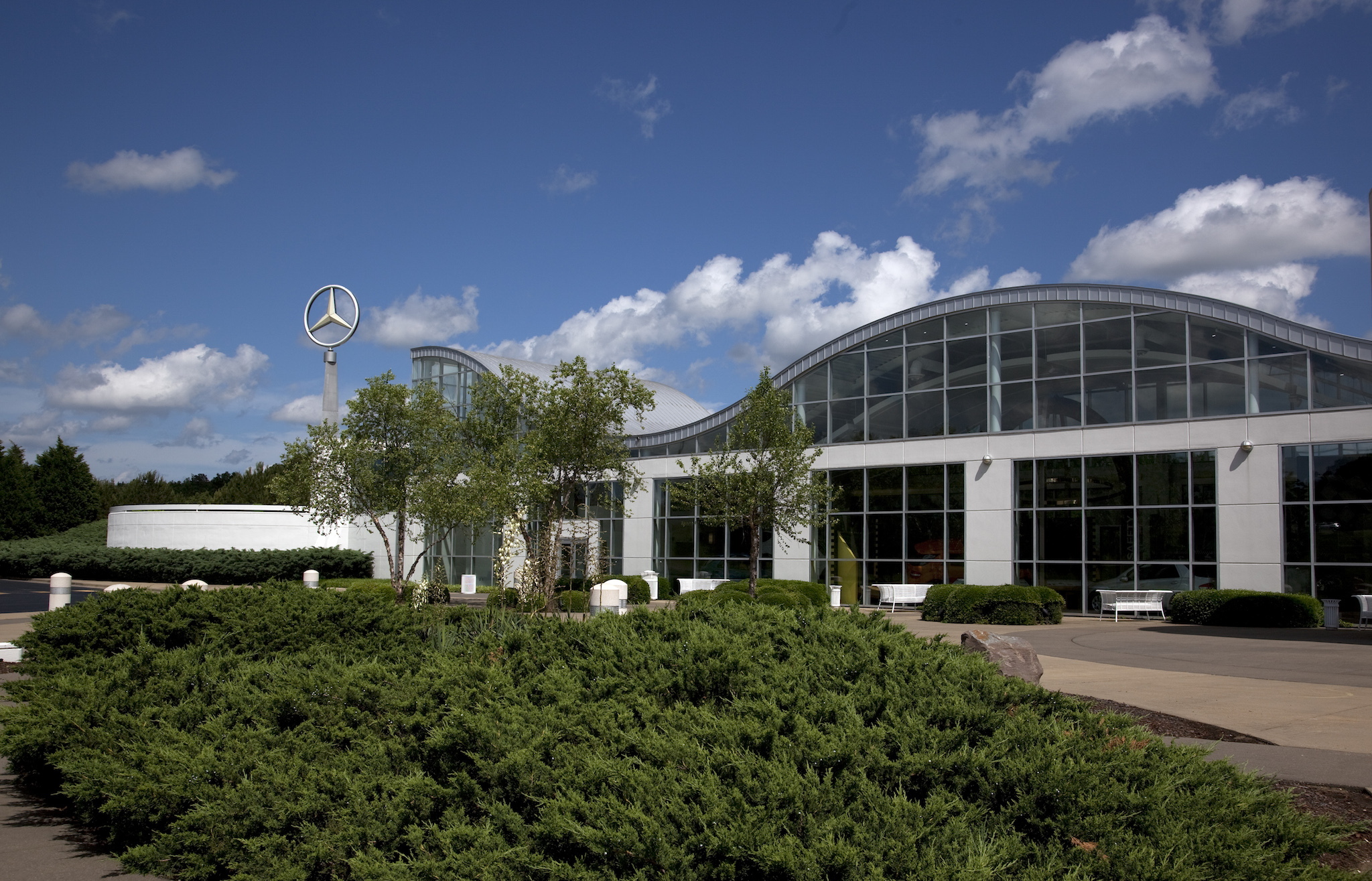 The Mercedes Benz factory in Tuscaloosa Alabama