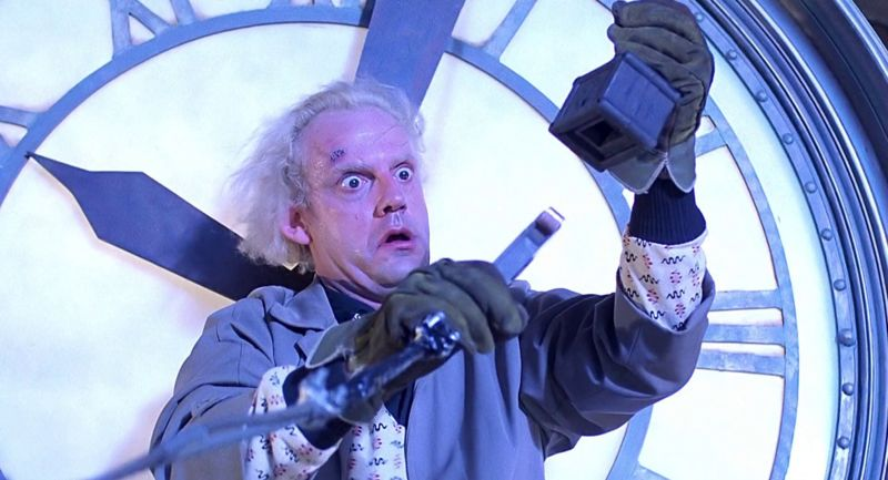 The bitcoin network uses several times the 1.21 gigawatts required to travel back in time.