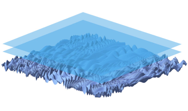 Image shows a complex 3D surface.