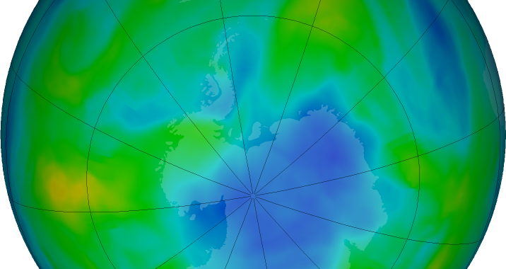 It seems someone is producing a banned ozone-depleting chemical again