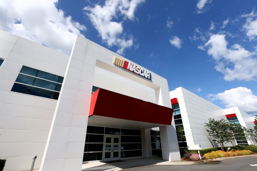 NASCAR's R&D Center in Concord, North Carolina.