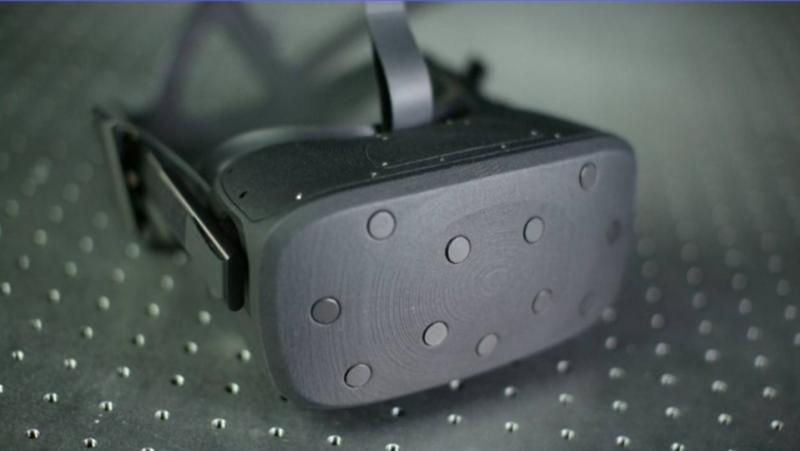 Oculus VR goggles.