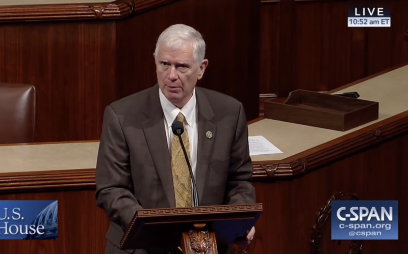 Congressman Mo Brooks wanted to know if scientists were including the influence of rocks falling into the ocean when they calculated sea level rise.