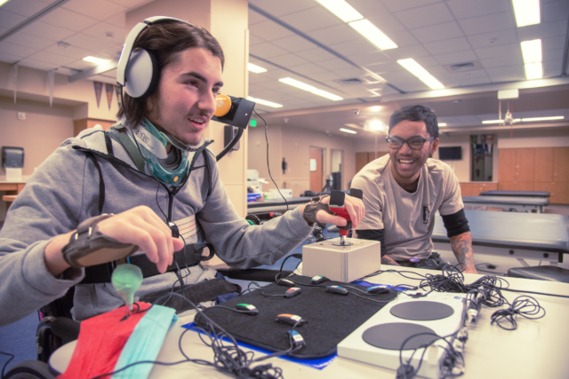 In the lab with Xbox's new Adaptive Controller, which may