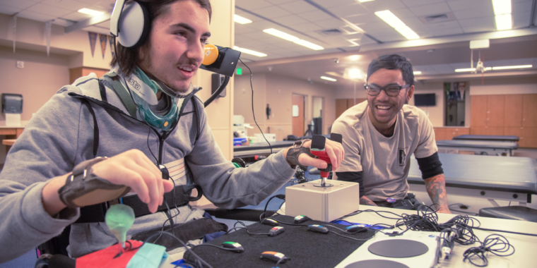 In the lab with Xbox's new Adaptive Controller, which may change