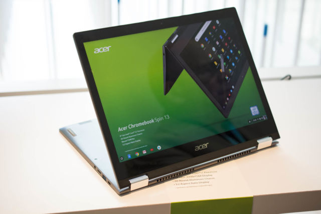Acer's Chromebook Spin 13 tempts professionals to use Chrome