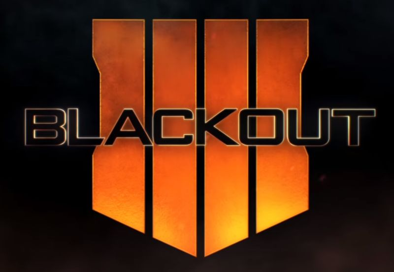 Logo for the blackout mode of Black Ops 4