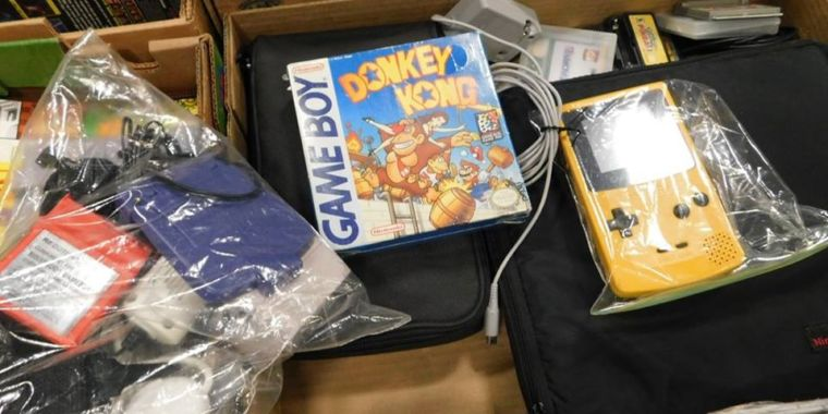 One man is auctioning off 40 years of gaming history today