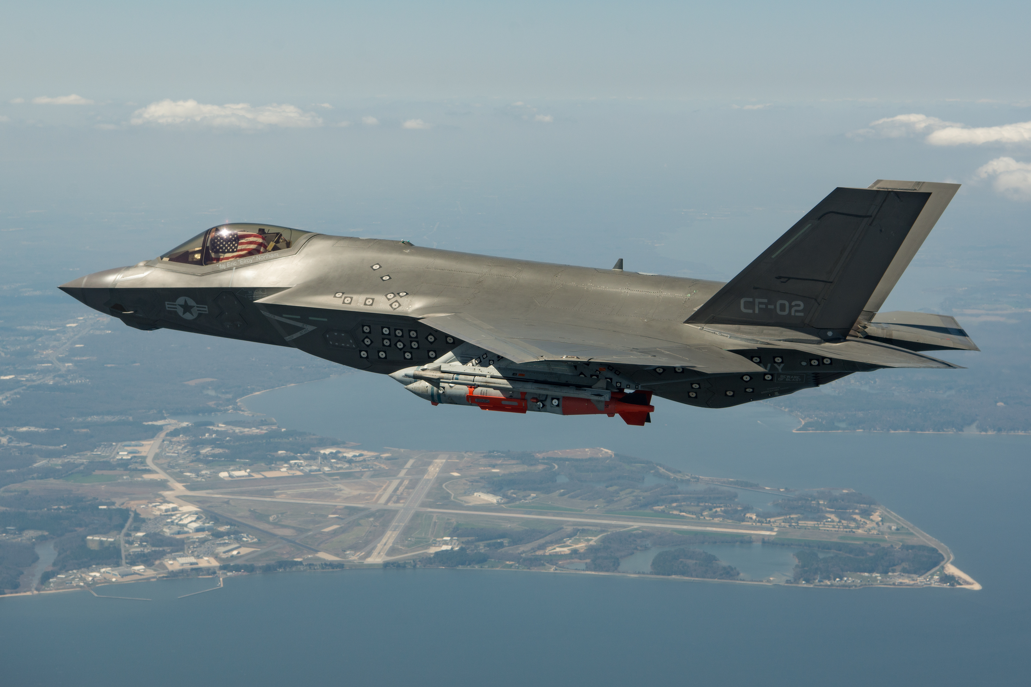 navy's f-35 doesn't have range for real stealth strikes, house report says