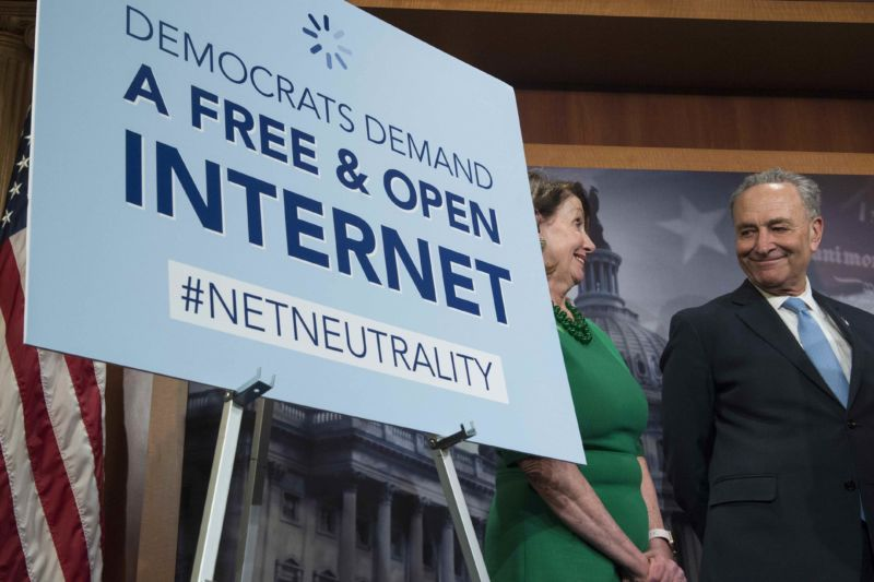 US Senate backs effort to restore 'net neutrality' rules