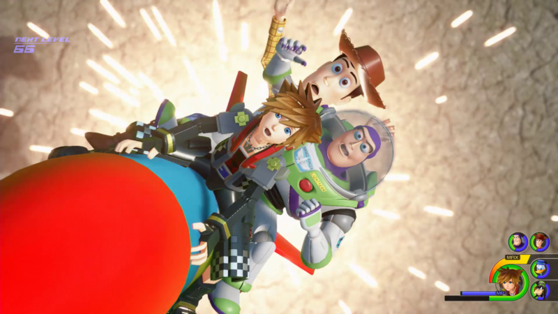 Kingdom Hearts 3 Gameplay World Premiere Pixars Magic Even Works