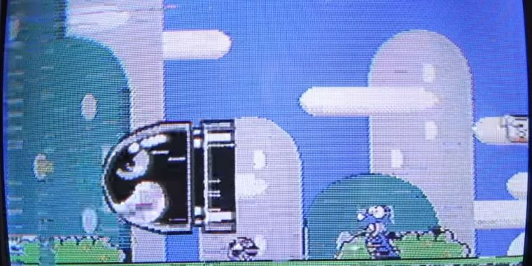 Hacker gets Super NES games running on unmodified NES