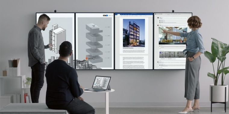 Surface Hub 2 Splits into Two: 2S in 2019, 2X in 2020
