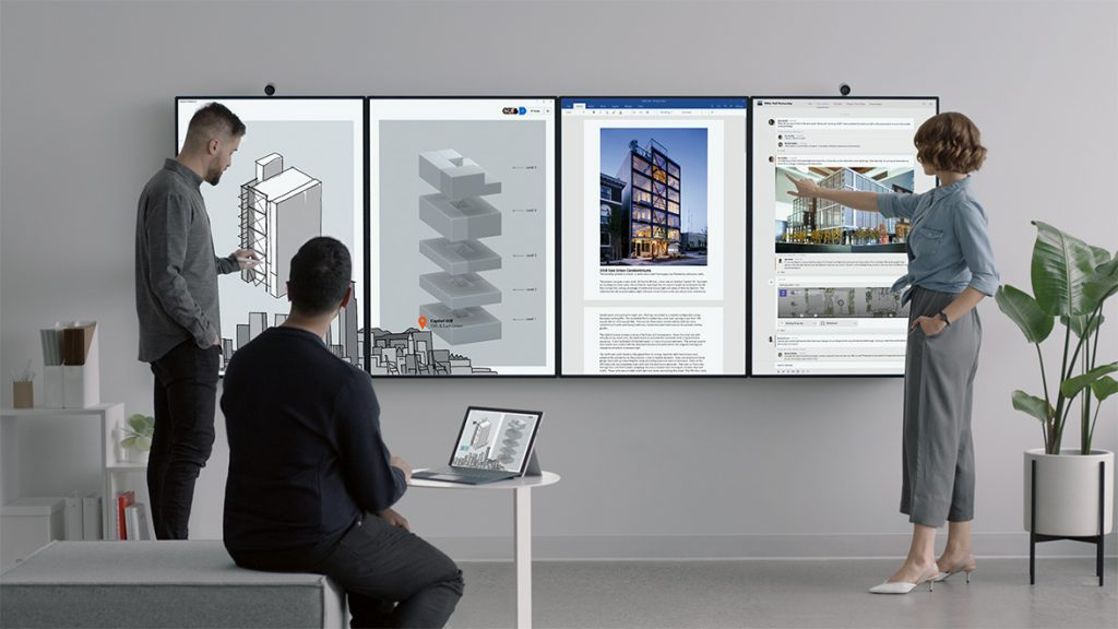 Surface Hub 2 splits into two: 2S in 2019, 2X in 2020 | Ars