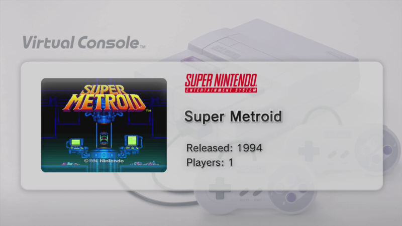 Nintendo says Switch won't get Virtual Console classic game