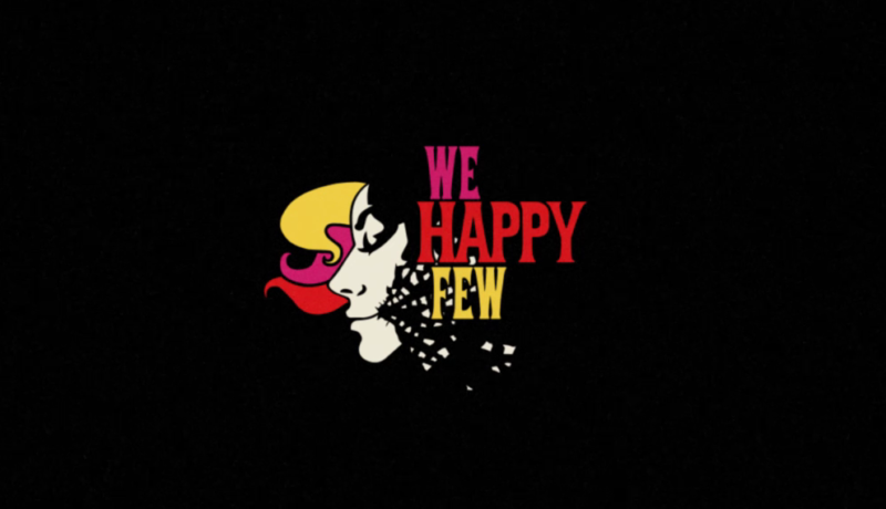 Promotional image for video game We Happy Few.