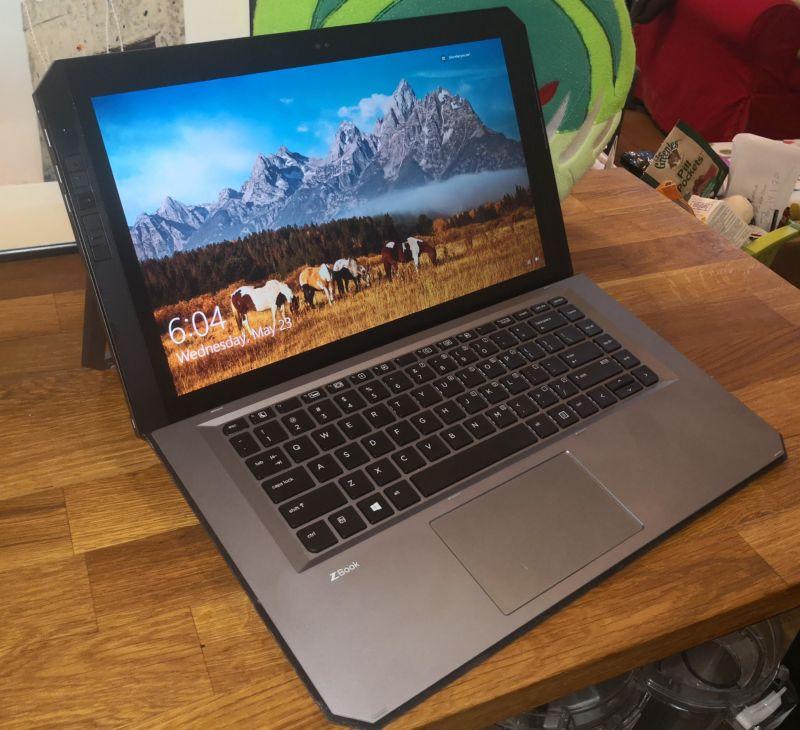 HP ZBook x2.