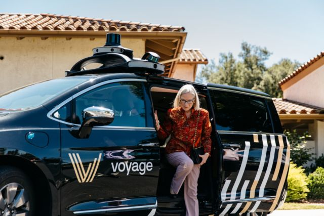 Voyage could be the Apple of the self-driving industry.